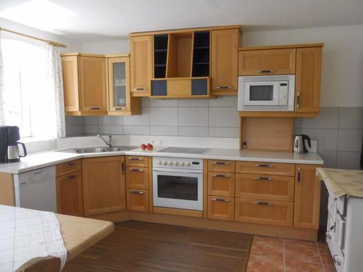 Küche im Ferienhaus (© Ferienhaus Hochgattern)
