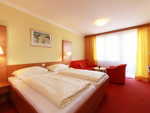 Doppelzimmer Deluxe hotel Lohninger-Schober. (© Hotel Lohninger-Schober)