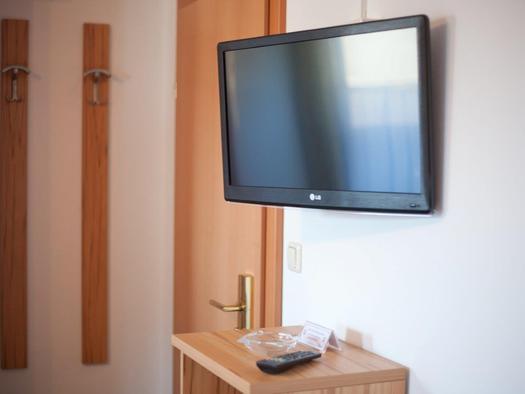 Flat TV in allen Zimmern