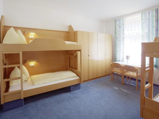Mehrbettzimmer Jugendgästehaus