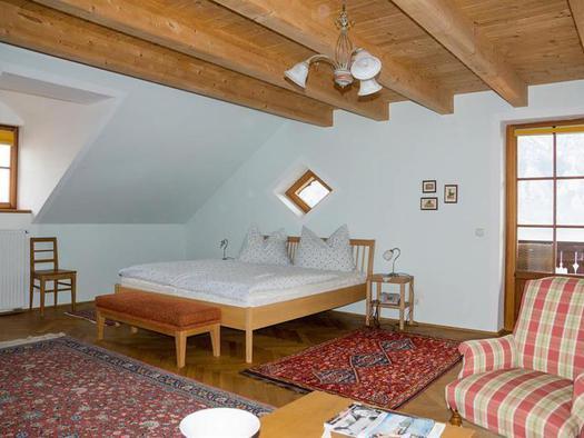Junior Suite Schlafzimmer (© Schweizerhof am See)