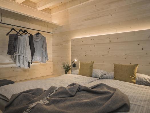 Schlafzimmer (© Ramenai Das Böhmerwaldlerdorf)