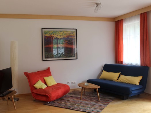 Wohnbereich. (© Andrea Dangl)