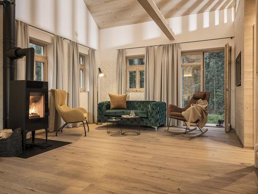 Wohnbereich im Waldbauernhaus (© Ramenai Das Böhmerwaldlerdorf)