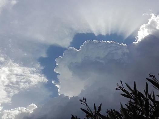 Gewitter über dem Traunsee (© hr)
