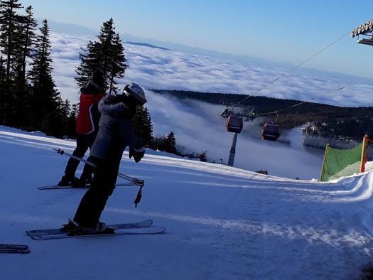Skigenuss im Skigebiet Hochficht