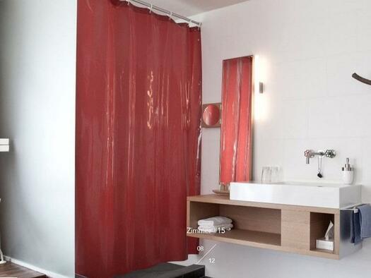 Badezimmer mit Dusche (© Hotel-Restaurant Mühltalhof)