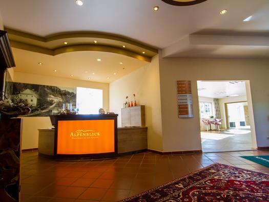 Der neugestaltete Empfangsbereich des Hotels. (© BenjaminOberneder/LinzerHausberge)