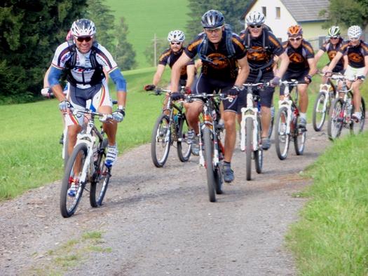 Mountainbiketour mit Mike Kluge (© Ralf & Walter)