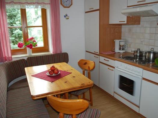 Küche - Ferienwohnung Sonnenblume (© Unteres Feld)