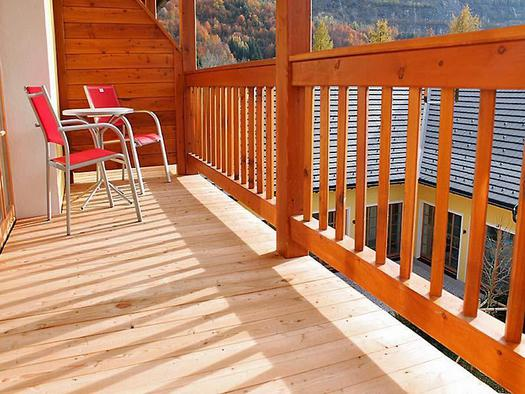 Hochsteg - Deluxe Zimmer Balkon (© Hotel Hochsteg Gütl)