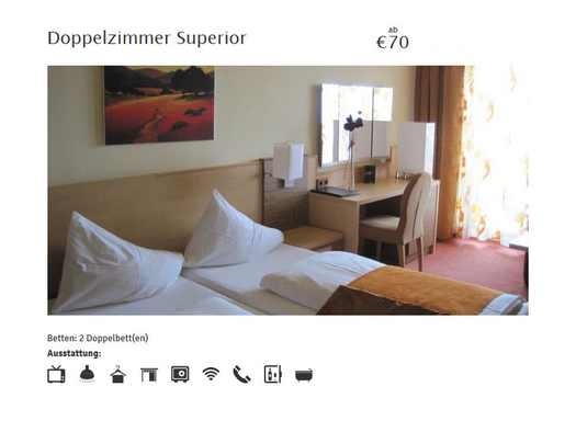 Doppelzimmer Superior (© Hotel Attersee, Fam. Conti)