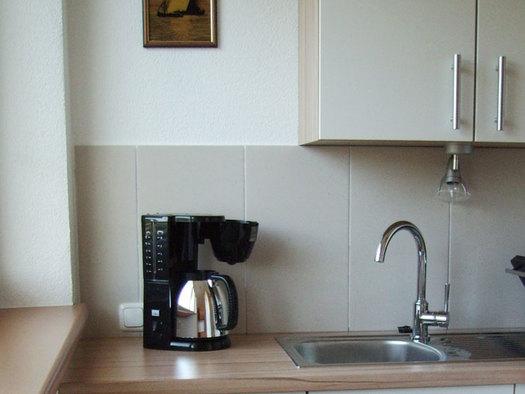 Küche, Kaffeemaschine. (© Stabauer)