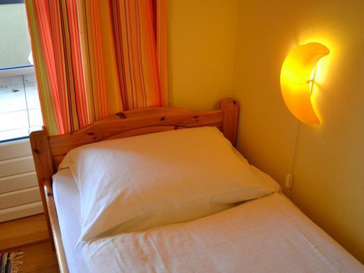 Schlafzimmer 2, zwei getrennte Betten