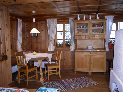 Chalet Almhütte hotel Bergrose. (© WTG)