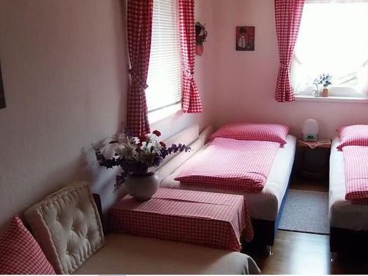 Apartment mit 2 Schlafzimmern. (© Rosemarie Weiland)