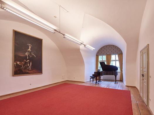 Schloss Weinberg, Seminarraum Lehar. (© Schloss Weinberg / Kurt Hörbst)