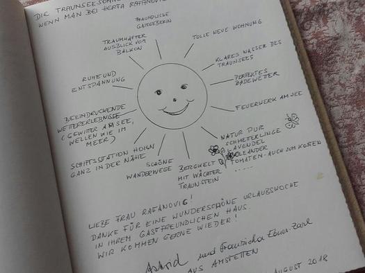 Gästebuch (© hr)