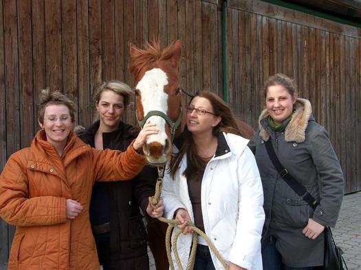 Foto mit Pferd