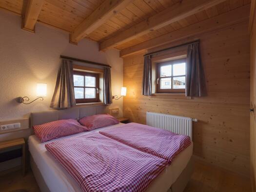 Panoramhütte Schlafzimmer