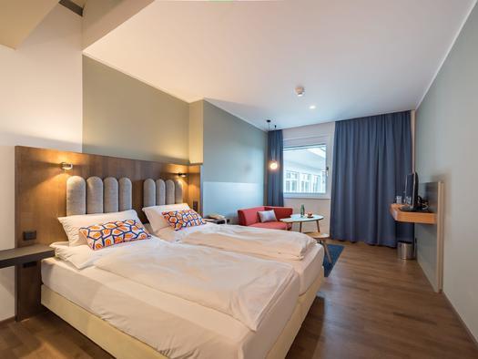 Standardzimmer mit Doppelbett