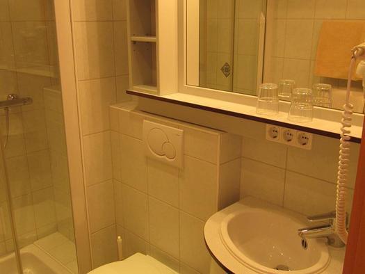Badezimmer vom Elternzimmer (© Berghof Sturmgut)