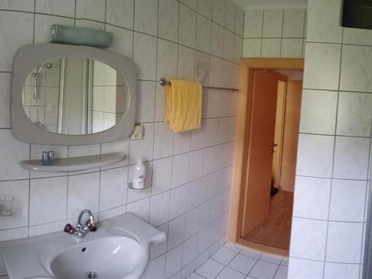 Dusche (© Ferienwohnungen Schiemel)