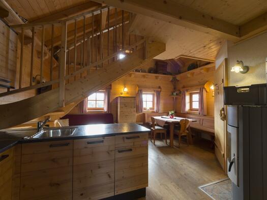Panoramhütte Küche