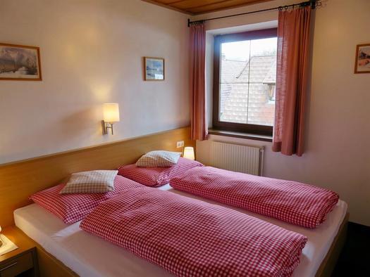Schlafzimmer (© Berghof Sturmgut)