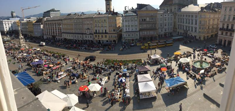 Flohmarkt Hauptplatz Linz