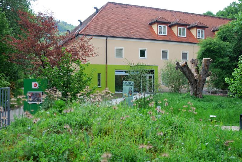 Der Garten des Biologiezentrums Linz