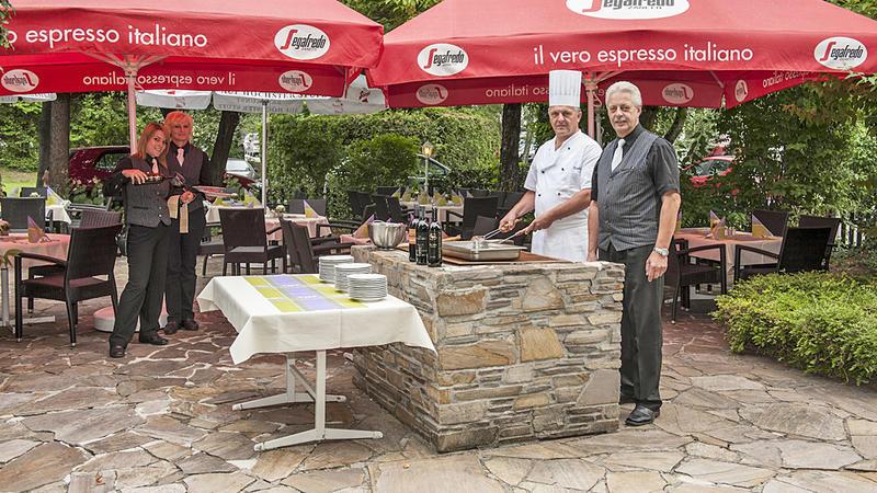 Terrasse Restaurant Landhof