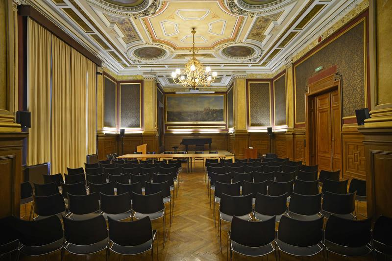 Der prachtvolle Festsaal der Linzer Landesgalerie