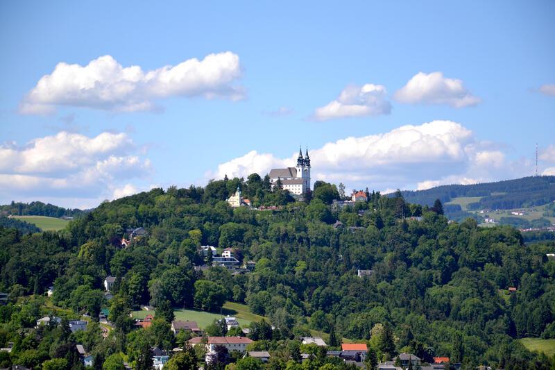 Blick auf Poestlingberg