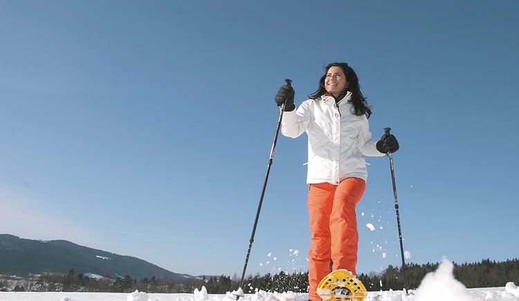 Für Schneeschuhtouren ist das Hotel AVIVA****s make friends der ideale Ausgangspunkt. (© Hotel AVIVA)