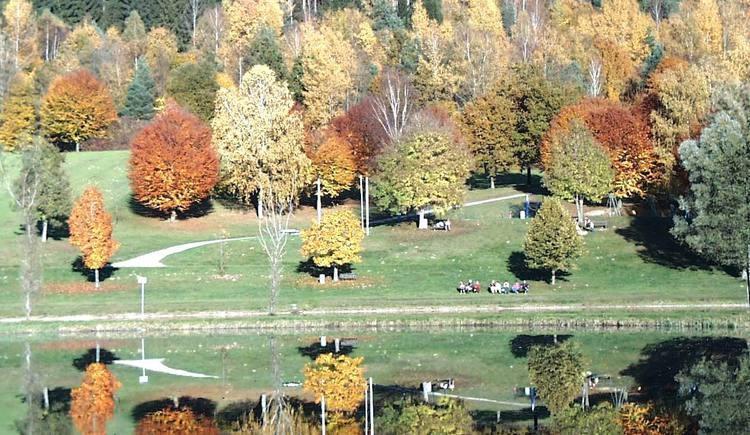 Rannabadesee im Herbst (© TV Neustift)