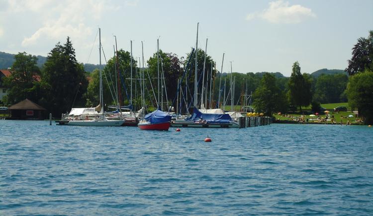 Segelsteg SCATT (© Ferienregion Attersee)