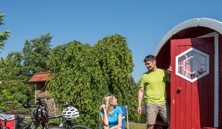 Camping Au an der Donau, Schalffass