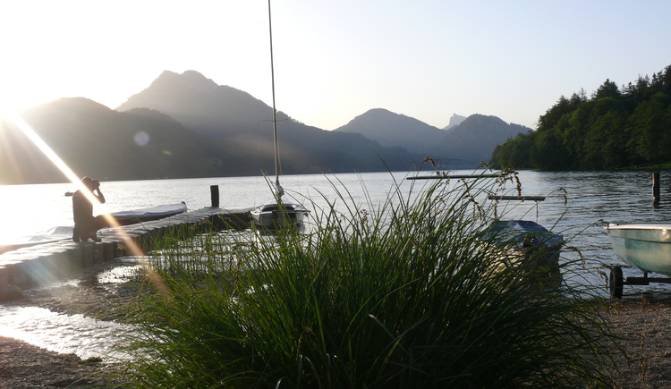 Fuschlsee, Boote