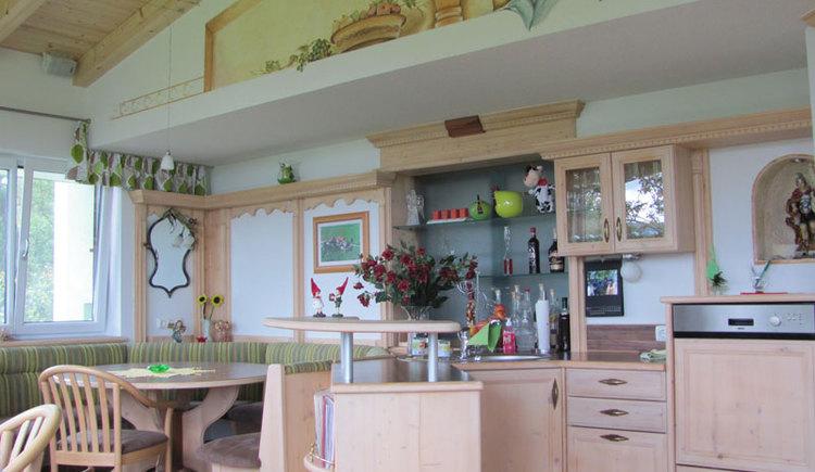 Aufenthaltsraum - Urlaub am Bauernhof Familie Emeder in Stra\u00df i.A.