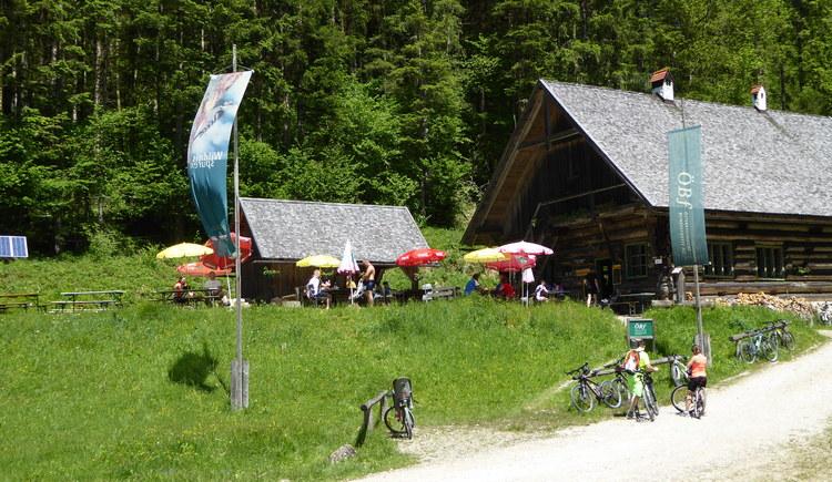 Große Klaushütte - Reichraminger Hintergebirge. (© TV Nationalpark Region Ennstal)