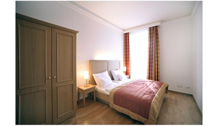 Schlafzimmer 1 Wohnung Clematis