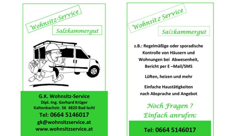 Wohnsitz Service Salzkammergut (© Dipl.-Ing. Gerhard Krüger)