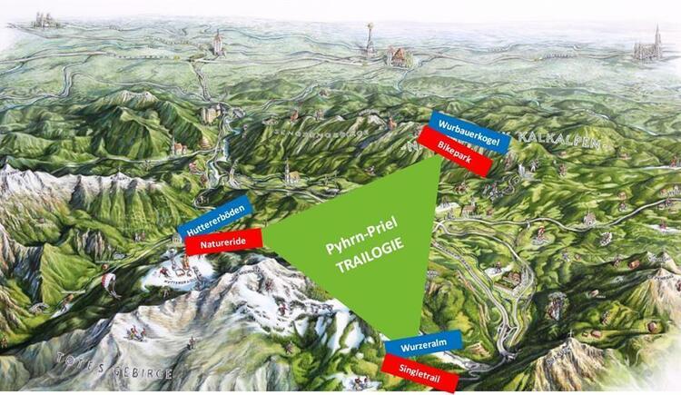 Pyhrn-Priel Trailogie (© TVB Pyhrn-Priel)