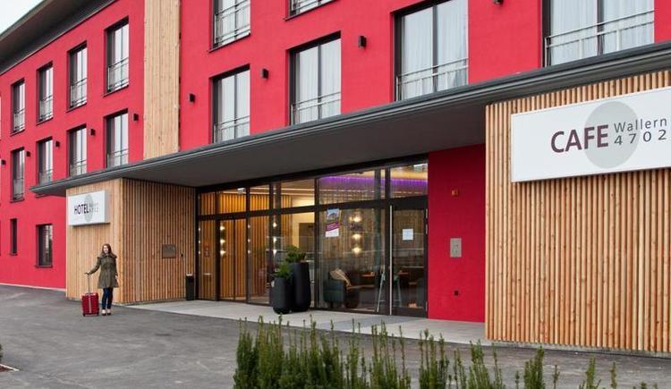 Hotel Garni Wallern - Hausansicht