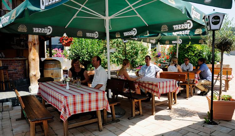 Ferienhotel Innviertel in Kirchheim im Innkreis - Gastgarten