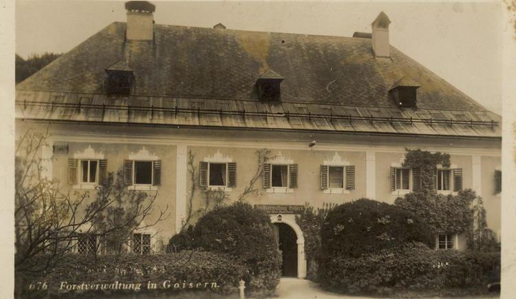 Ehemaliges Schloss Neuwildenstein im Zentrum von Bad Goisern - Station 2