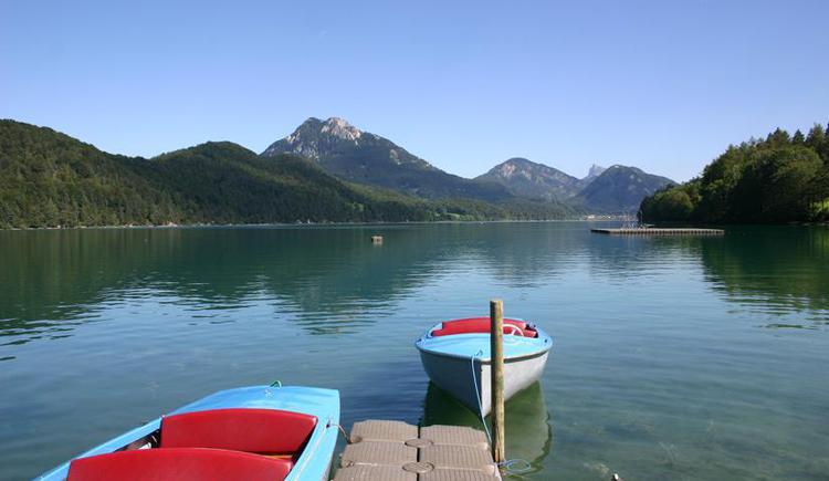 Ausblick am See