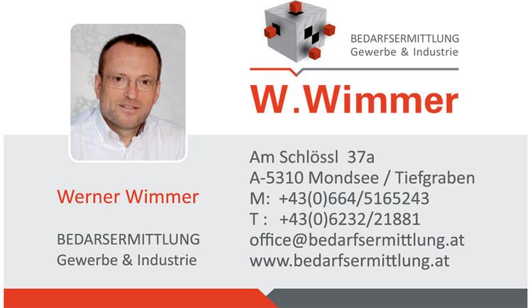 Visitenkarte: Werner Wimmer