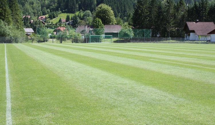 Fußballplatz Hinterstoder (© Gemeinde Hinterstoder)